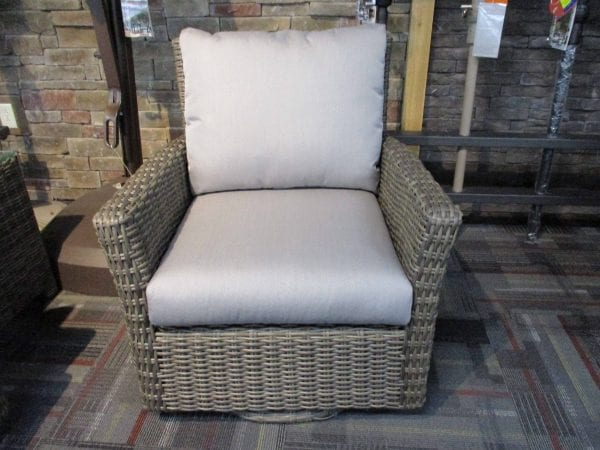 patio swivel gliding chair