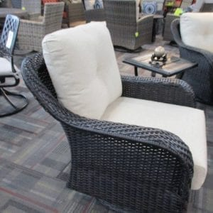 outdoor patio gliding chair
