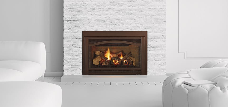 natural look indoor gas fireplace